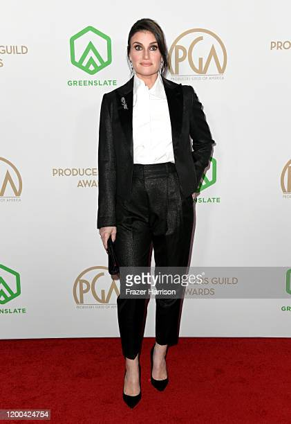 Idina Menzel attends the 31st Annual Producers Guild Awards at Hollywood Palladium on January 18 2020 in Los Angeles California