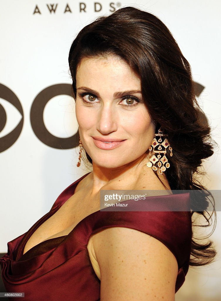 Idina Menzel attends the 68th Annual Tony Awards at Radio City Music Hall on June 8, 2014 in New York City.
