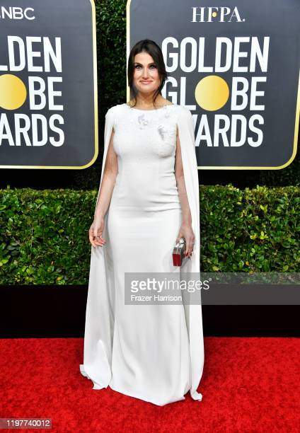 Idina Menzel attends the 77th Annual Golden Globe Awards at The Beverly Hilton Hotel on January 05 2020 in Beverly Hills California