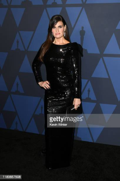 Idina Menzel attends the Academy Of Motion Picture Arts And Sciences' 11th Annual Governors Awards at The Ray Dolby Ballroom at Hollywood & Highland...