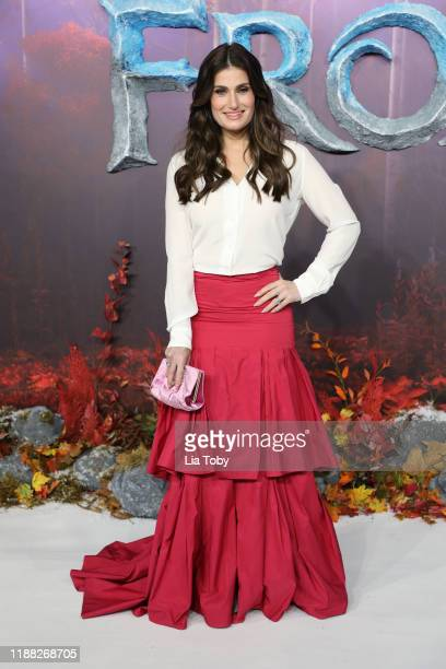 Idina Menzel attends the Frozen 2 European premiere at BFI Southbank on November 17 2019 in London England
