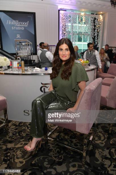 Idina Menzel attends The Hollywood Reporter TIFF Studio presented by St Regis MAC and Martell at The St Regis Toronto on September 09 2019 in Toronto...