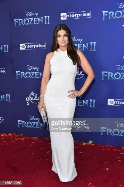 Idina Menzel attends the premiere of Disney's Frozen 2 at Dolby Theatre on November 07 2019 in Hollywood California