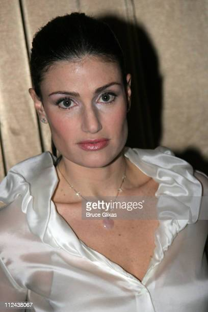 Idina Menzel during New York Casting Society of America 21st Annual Artio's Awards at American Airlines Theater Penthouse in New York City New York...