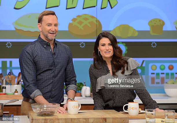 THE CHEW Idina Menzel is the guest Thursday January 19 2017 on ABC's 'The Chew' 'The Chew' airs MONDAY FRIDAY on the ABC Television Network MENZEL