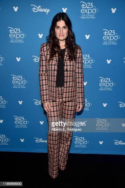 Idina Menzel of 'Frozen 2' took part today in the Walt Disney Studios presentation at Disney's D23 EXPO 2019 in Anaheim Calif 'Frozen 2' will be...