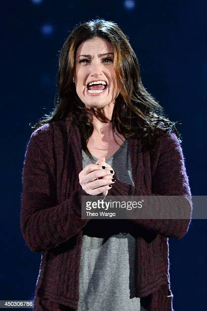 Idina Menzel performs from If/Then onstage during the 68th Annual Tony Awards at Radio City Music Hall on June 8 2014 in New York City