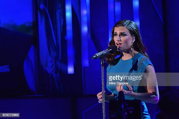 Idina Menzel performs onstage during the CNN Heroes Gala 2016 at the American Museum of Natural History on December 11 2016 in New York City 26362_011