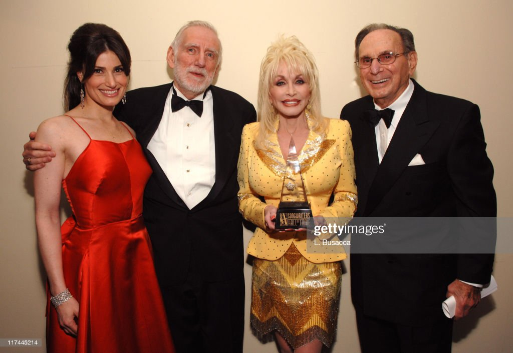 Idina Menzel, Rod McKuen, Dolly Parton and Hal David