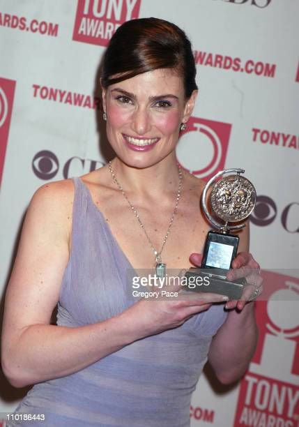 Idina Menzel winner Best Leading Actress in a Musical for Wicked