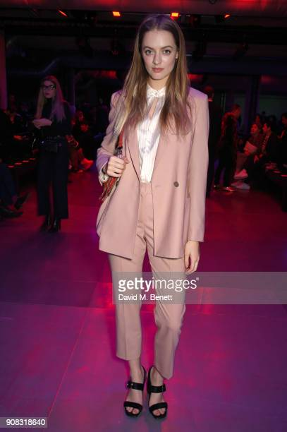 Idina Moncreiffe wearing Paul Smith attends the Paul Smith AW18 Men's and Women's Show on January 21 2018 in Paris France