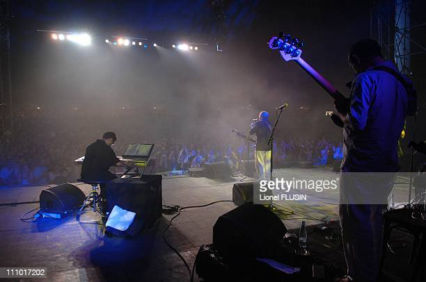 Idir at the 32nd Paleo Music Festival in Nyon, Switzerland on July 27th, 2007