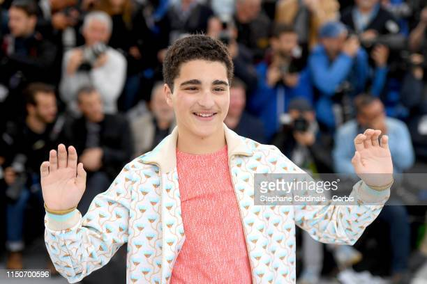 """Idir Ben Addi attends the photocall for """"Young Ahmed """" during the 72nd annual Cannes Film Festival on May 21, 2019 in Cannes, France."""