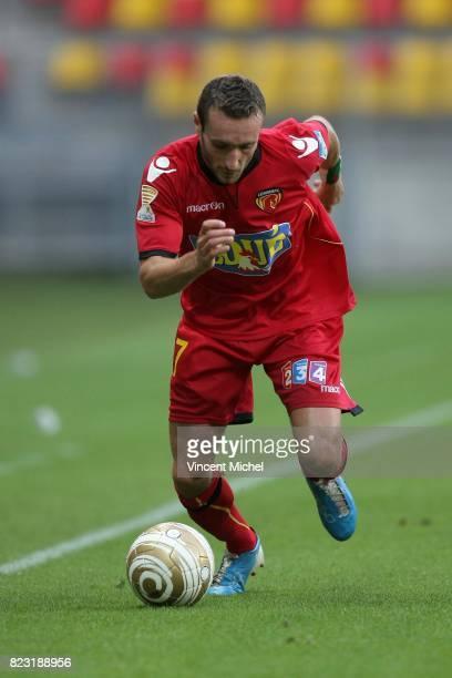 Idir OUALI - - Le Mans / Arles Avignon - Coupe de la Ligue 2011/2012,