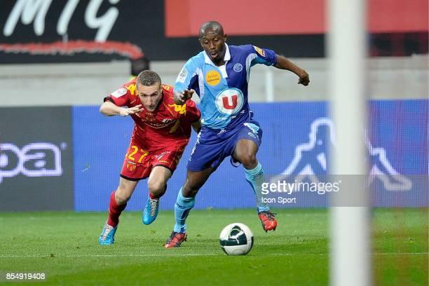 Idir OUALI / Mody TRAORE Le Mans / Le Havre 31e journee Ligue 2