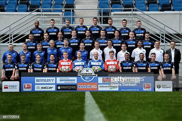 Idir Quali, Marc Vucinovic, Michael Heinloth, Lukas Rupp, goalkeeper Nico Burchert, goalkeeper Lukas Kruse, goalkeeper Daniel Lueck, goalkeeper...