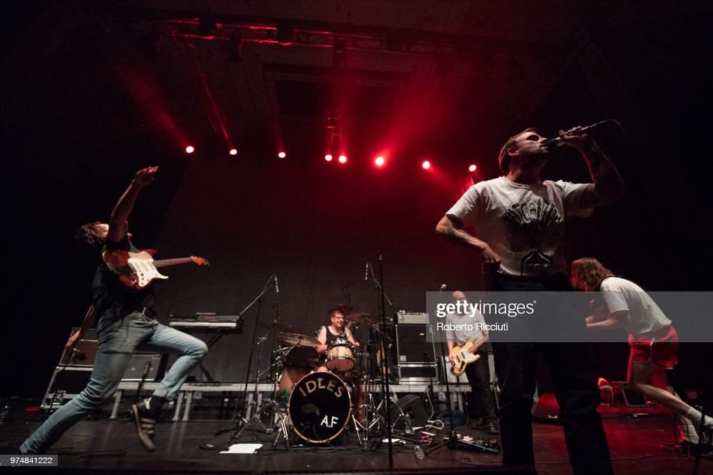 Future Islands Perform At Usher Hall, Edinburgh : News Photo
