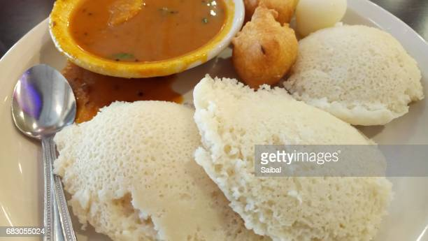 Idli Sambar South Indian breakfast