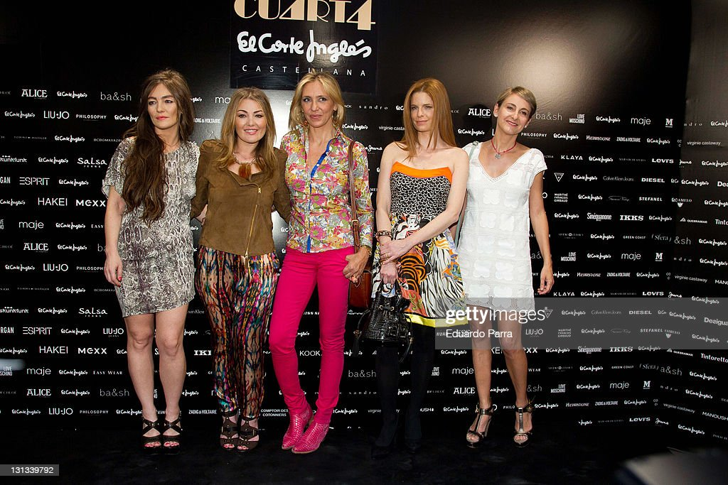 Amaia Montero Attends 'Moda Tendencias' New Floor at El Corte Ingles Store