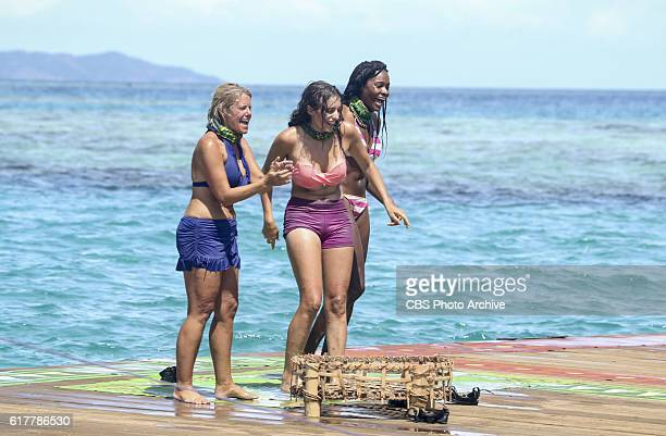 Idol Search Party Sunday Burquest Hannah Shapiro and Michaela Bradshaw on the fifth episode of SURVIVOR Millennials vs Gen X airing Wednesday Oct 19...