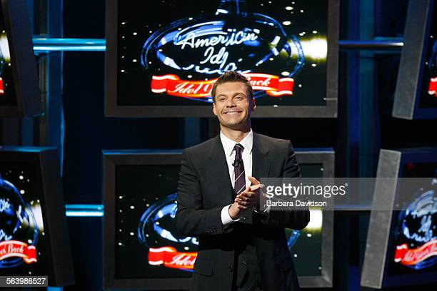 Idol–American Idol host Ryan Seacrest at the 'American Idol The Idol Gives Back' show and fundraising event in Hollywood California April 6 2008