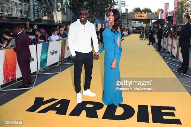 Idris Elba and Sabrina Dhowre attend the Premiere of Yardie Yardie is released in UK cinemas on 31st August at BFI Southbank on August 21 2018 in...