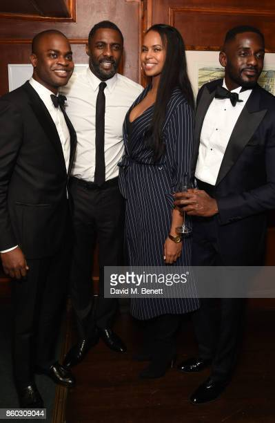Idris Elba and Sabrina Dhowre attend the The BARDOU Foundation's International Day Of The Girl Gala in support of The Princes Trust at Albert's Club...