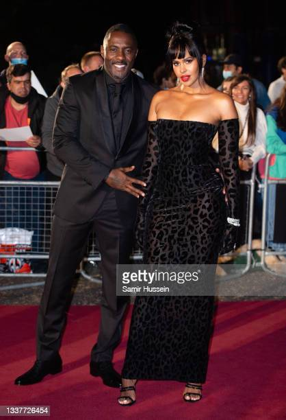 Idris Elba and Sabrina Elba attends the GQ Men Of The Year Awards 2021 at Tate Modern on September 01, 2021 in London, England.