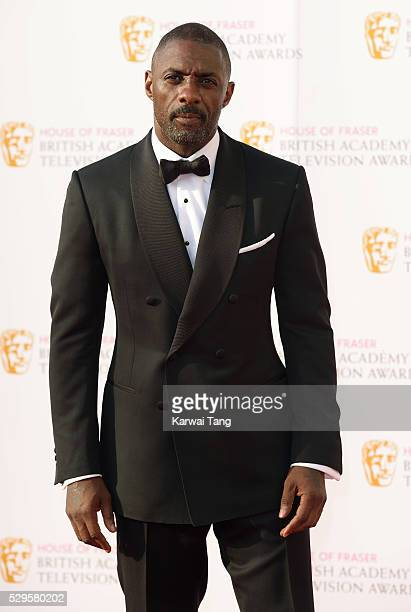 Idris Elba arrives for the House Of Fraser British Academy Television Awards 2016 at the Royal Festival Hall on May 8, 2016 in London, England.