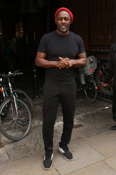 """GBR: """"Tree"""" By Idris Elba and Kwame Kwei-Armah - Press Night During The Manchester International Festival - VIP Arrivals"""