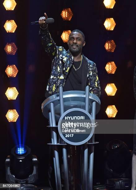 Idris Elba at the Hyundai Mercury Prize 2017 at Eventim Apollo on September 14 2017 in London England