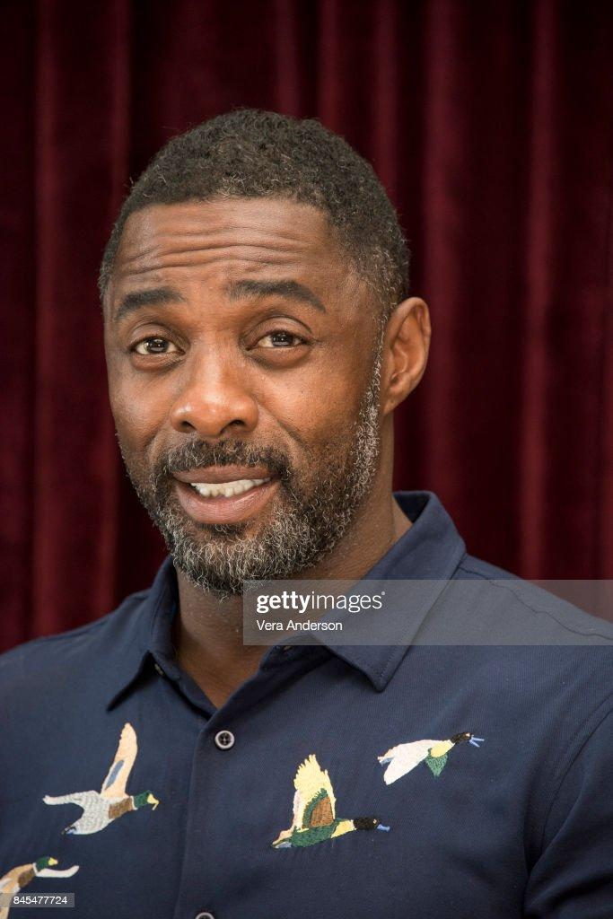 Idris Elba at 'The Mountain Between Us' Press Conference at the Ritz Carlton Hotel on September 9, 2017 in Toronto, Canada.