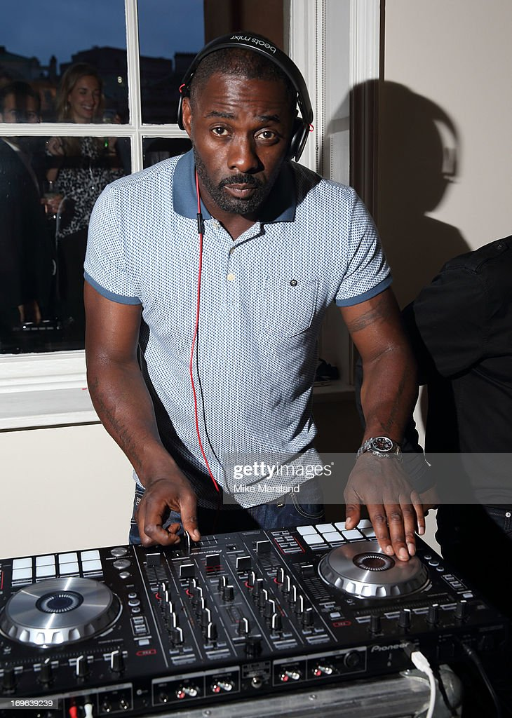 Idris Elba attends Esquire magazine's summer party at Somerset House on May 29, 2013 in London, England.