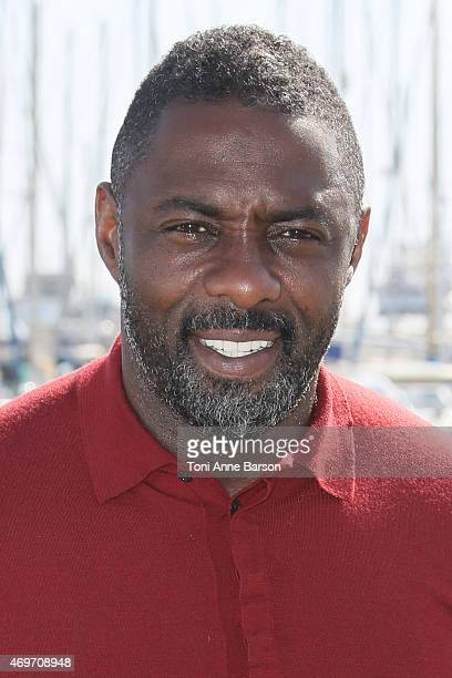 Idris Elba attends Mandela, My Dad And Me photocall as part of MIPTV 2015 on April 14, 2015 in Cannes, France.