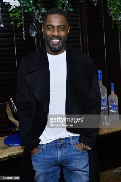 Idris Elba attends MOLLY'S GAME premiere party hosted by GREY GOOSE Vodka at The Citizen on September 8 2017 in Toronto Canada