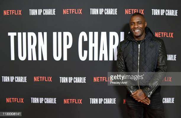 Idris Elba attends Netflix's 'Turn Up Charlie' Red Carpet and Reception at Pacific Design Center on March 02, 2019 in West Hollywood, California.