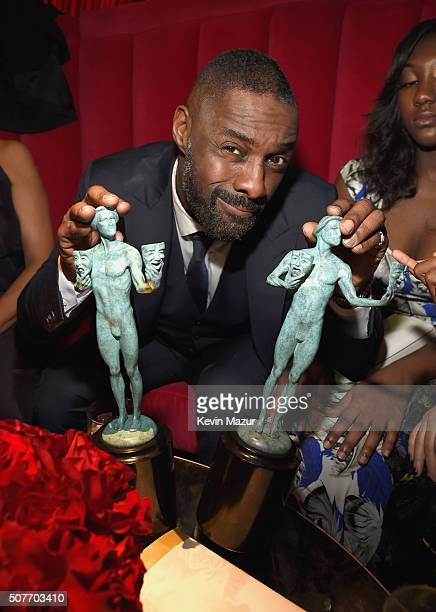 Idris Elba attends People and EIF's Annual Screen Actors Guild Awards Gala at The Shrine Auditorium on January 30 2016 in Los Angeles California