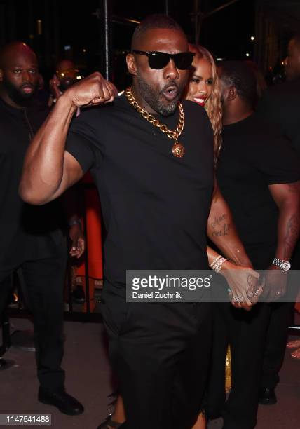 Idris Elba attends the 2019 Met Gala Boom Boom Afterparty at The Standard hotel on May 06 2019 in New York City