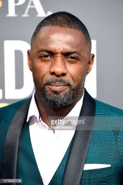 Idris Elba attends the 76th Annual Golden Globe Awards at The Beverly Hilton Hotel on January 6 2019 in Beverly Hills California