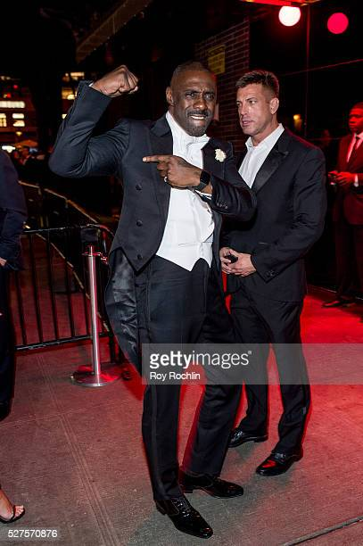 Idris Elba attends the after Party at the Standard Hotel following Manus x Machina Fashion In An Age Of Technology Costume Institute Gala on May 2...
