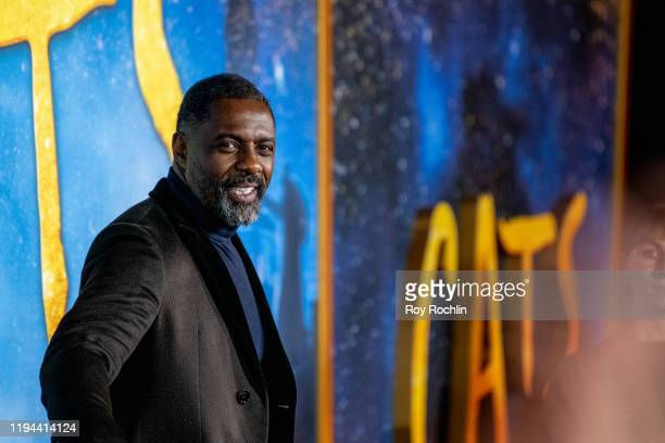 """Idris Elba attends the """"Cats"""" World Premiere at Alice Tully Hall, Lincoln Center on December 16, 2019 in New York City."""