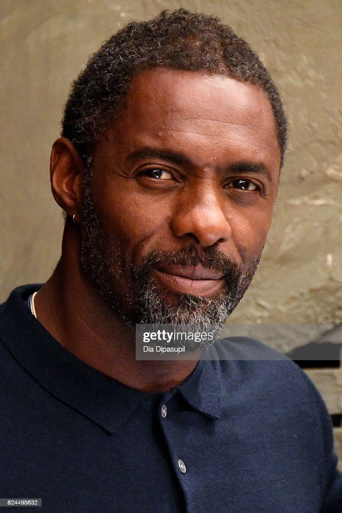 Idris Elba attends 'The Dark Tower' photocall at the Whitby Hotel on July 30, 2017 in New York City.