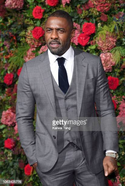 Idris Elba attends the Evening Standard Theatre Awards 2018 at Theatre Royal Drury Lane on November 18 2018 in London England