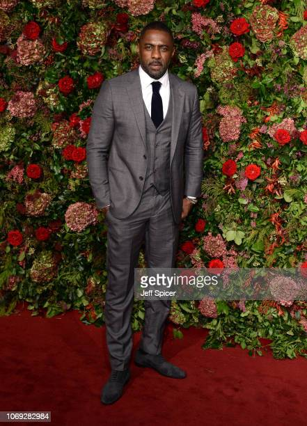 Idris Elba attends the Evening Standard Theatre Awards 2018 at the Theatre Royal on November 18 2018 in London England