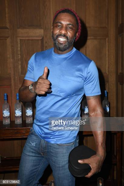 Idris Elba attends the Grey Goose afterparty for Idris Elba's film 'Yardie' hosted at Soho House Berlin on February 22 2018 in Berlin Germany