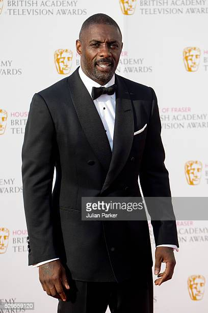 Idris Elba attends the House Of Fraser British Academy Television Awards 2016 at the Royal Festival Hall on May 8, 2016 in London, England.