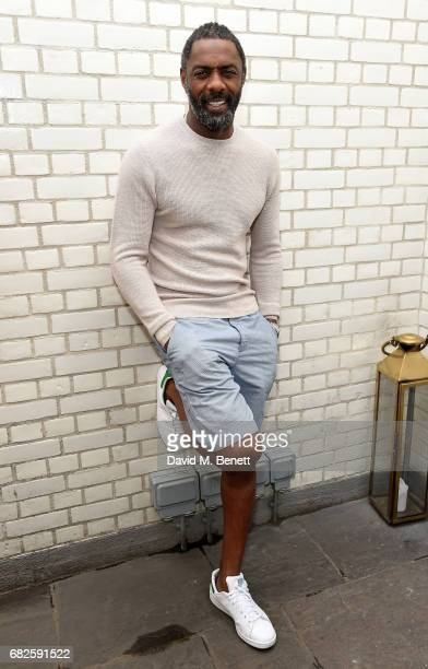 Idris Elba attends the Idris Elba Purdey's campaign launch event at Soho House on May 13 2017 in London England
