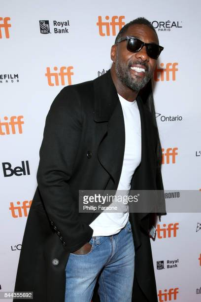 Idris Elba attends the 'Molly's Game' premiere during the 2017 Toronto International Film Festival at The Elgin on September 8 2017 in Toronto Canada