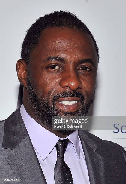 """Idris Elba attends the New York premiere of """"Mandela: Long Walk to Freedom"""" hosted by The Weinstein Company, Yucaipa Films & Videovision..."""