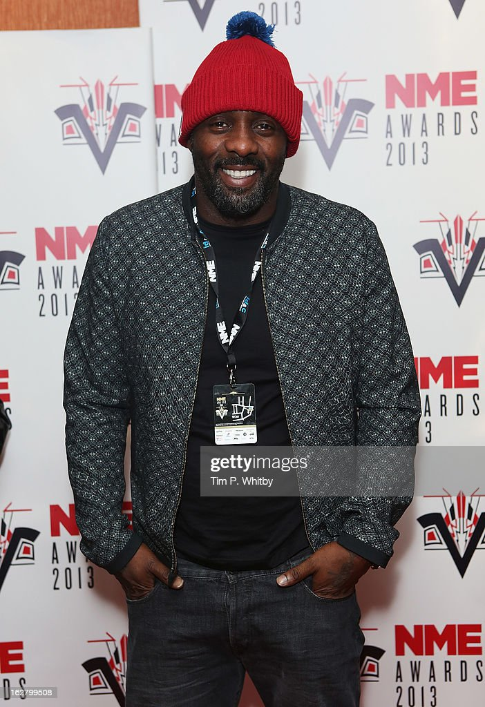 Idris Elba attends the NME Awards 2013 at the Troxy on February 27, 2013 in London, England.